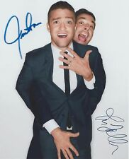 Justin Timberlake & Jimmy Fallon SNL Can't Stop The Feeling! RARE SIGNED RP 8x10