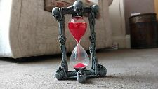 Skeleton Skull Hourglass sand timer gothic fantasy detailed NEW collectable