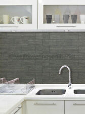 BLACK & GREY, Wood TILE Effetto Carta Da Parati Da Holden Decor (89216)
