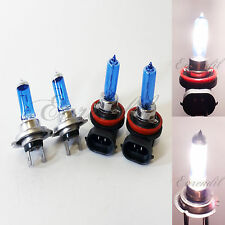 H7 + H9 Combo White Xenon Halogen Headlight #bt8 Bulb High/Low Beam Motorcycle
