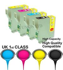 4 ink catridge T0631-T0634 epson NON ORIGINAL