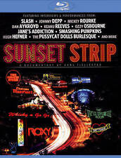 Sunset Strip (Blu-ray Disc, 2014)w Interviews from Johnny Depp, Slash. BRAND NEW