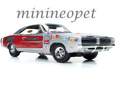 AUTOWORLD AW228 1969 DODGE CHARGER R/T NHRA DICK LANDY 1/18 DIECAST SILVER