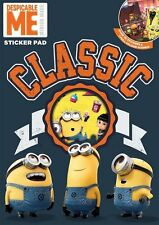 New Minion Characters Classic Sticker Pad Kids Art and Craft Educational Toys