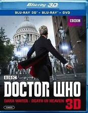 Doctor Who: Dark Water/Death in Heaven 3D (DVD, 2015, 5-Disc Set)