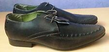 Claudio Conti Mens Real Leather Lace up Shoes - Dark Brown - Size 6