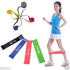 1/4 Resistance Tube Gym Fitness Exercise Workout Heavy Yoga Training Band Red