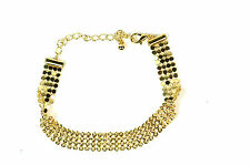 ELEGANT LADIES SLIMG MULTI LAYER GOLD BRACELET BRAND NEW UNIQUE (A23)