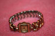 Vintage 10K G.R. Swiss Helbros Ladies Watch 17 Jewels