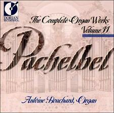Pachelbel: The Complete Organ Works, Vol. 11, New Music