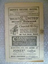 Prince's Theatre Programme- SUNNY a musical comedy-Elsa Brown,Rene Mallory