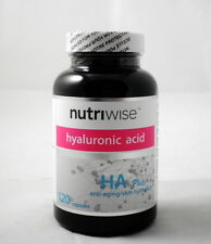 NUTRIWISE hyaluronic acid + collagen skin care 240 capsules 强力膠原蛋白 玻尿酸 美肤  x 2 瓶