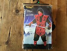 Halloween Spirit Complete Ninja Costume - Opened but not worn - L 12 / 14 Youth