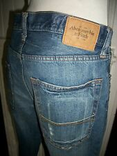 Pantalon jean ABERCROMBIE & FITCH  W31 L34 42 bootcut usé troué destroyed 16VP54