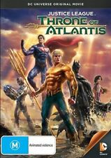 JUSTICE LEAGUE Throne Of Atlantis DVD R4 - PAL