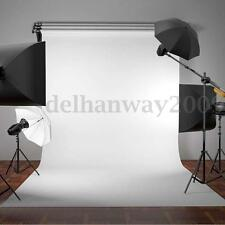 5x10FT White Studio Photography Props Backdrop Non-Woven Light Photo Background