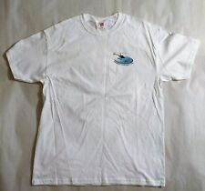 Manatee Helicopter Souvenir T-Shirt, White, 100% Cotton,XL