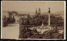 Kabinett-Foto-Stuttgart-H.Brandseph-Schlossplatz-Altes-Schloss-1897-