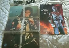"Michael Jackson ""Souvenir Singles Pack"" Bad Tour 88 Köln Viuyls Epic Privates"