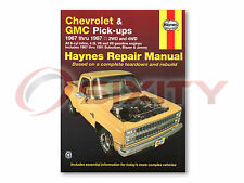 Chevy K5 Blazer Haynes Repair Manual Deluxe Silverado Scottsdale Base sh