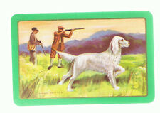 Playing Swap Cards  1 VINT  HUNTING / GUN DOGS & SHOOTERS AUST MINT  W258  SUPER