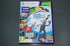 Game Party in Motion Xbox 360 Kinect UK PAL **FREE UK POSTAGE**