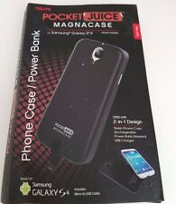 Tzumi Pocket Juice Magnacase Samsung Galaxy S4 2-in-1 Case/Power Bank 2000mAh