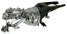 1955-59 Chevy and GMC Truck Chrome Firewall Mount Power Brake Booster Kit -