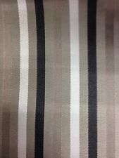 Kensington Small Stripe Fabric Curtain /  Cushion / Upholstery 140 Cm Width