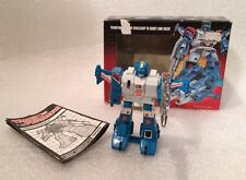 Transformers G1 1985 MB TOPSPIN jumperstarter in BOX milton bradley
