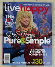 LIVE HAPPY December 2015 DOLLY PARTON Pure & Simple JOY OF FAMILY STORIES Gifts