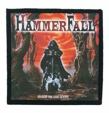 HAMMERFALL glory to the brave Toppa 10X10 (patch) Primal Fear,Dragonforce,Accept