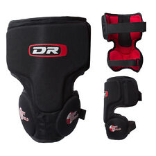 New DR ice hockey goalie knee pad Senior Sr sz thigh protector guard