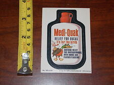 RARE OLD 1979 TOPPS MEDI QUAK WACKY PACKAGES #58