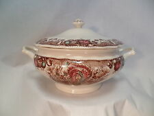 Johnson Brothers His Majesty Soup Tureen Casserole Dish Thanksgiving Fall