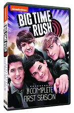 Big Time Rush Complete 1st First Season 1 One DVD Set Series TV Show Nickelodeon
