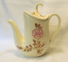 Red Wing USA RED WING ROSE Futura Shape Circa 1958 Tea Pot with Lid