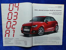 Audi A1 Admired - Werbeanzeige Reklame Advertisement 2013 __ (217