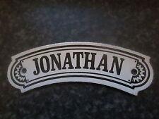 Vintage dodo designs (mfrs) émail de plaque nom-jonathan