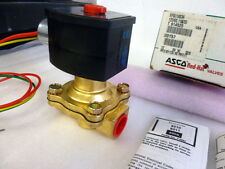 "Asco 1/2"" EF8210G034 3UK88 exp proof normally open air water valve, 120v C402"