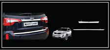 Rear Trunk Garnish Chrome Trim 2P 1Set For 13 14 Kia New Sorento R