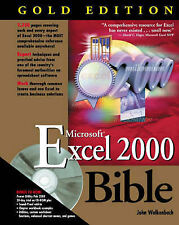 Walkenbach, John EXCEL 2000 Bible: Gold Edition Very Good Book