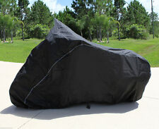 "MOTORCYCLE COVER Touring Style Bike up to 108"" L  windshield and saddle bags"