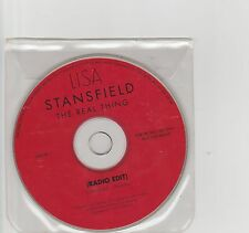 Lisa Stansfield-The Real Thing UK promo cd single