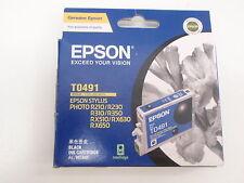 EPSON T0491 BLACK INK CARTRIDGE FOR EPSON STYLUS R210 R230 R310 R350 RX510 RX630