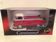VW T1 Pick Up Red & White Cararama 13440 - 1:43 New Special Offer