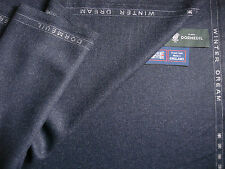 DORMEUIL 80%WOOL & 20%SILK WORSTED JACKETING FABRIC Winter Dream By Dormeuil- 2m