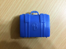 Barbie Doll Blue Travel Luggage Bag Suitcase Accessory