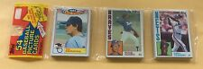 1984 Topps Baseball Trading Cards Rack Pack Darryl Strawberry On Top