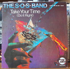 THE S.O.S BAND TAKE YOUR TIME FRENCH SP TABU 1980